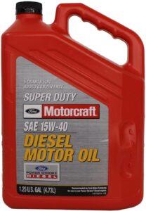 Ford Super Duty Diesel Motor Oil