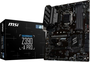 MSI Z390-A PRO LGA 1151 Gaming Motherboard