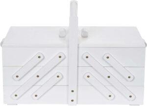 Prym Sewing Box Wood Large White