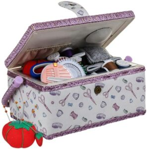 Sewkit Large Wooden Sewing Box