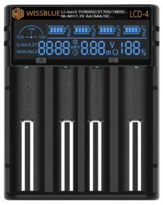 WISSBLUE Fast Battery Charger