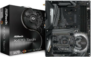 ASROCK AMD X470 Motherboard for 2700X
