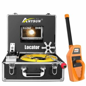 Anysun Sewer Camera with Locator & Receiver