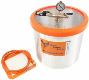 Best Value Vacs 5 Gallon Aluminium Vacuum Chamber
