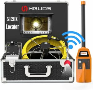 HBUDS Sewer Camera and Locator Combo