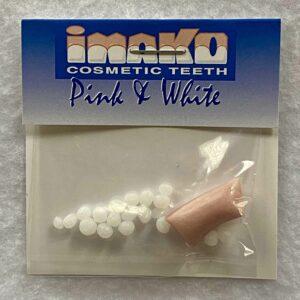 Imako Pink and White Cosmetic Teeth