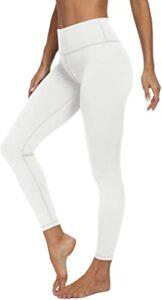 Viishow Women's High Waisted White Yoga Pants