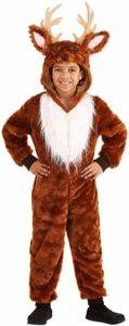 Kids One Piece Deer Costume